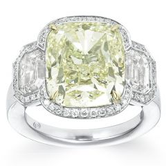 Ten Carat Cushion