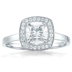 Forevermark Cushion Halo