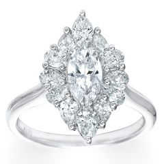 Marquise Pear Cluster