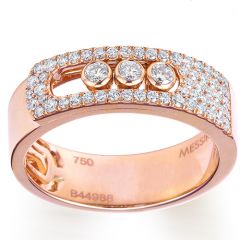 Move Noa Paved Rose Gold Ring