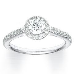 Simple Forevermark Halo