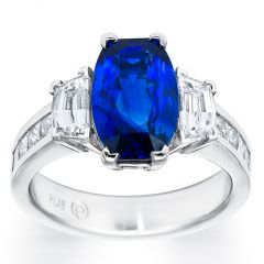 Sapphire and Trapezoid Beauty