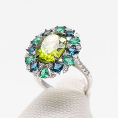 Multi-Gem Cluster Ring