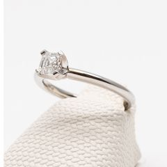 Princess Cut Simple Diamond Ring