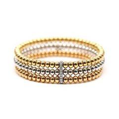 Triple Bobble Bracelet
