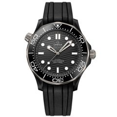 Seamaster Diver 300m Omega Co Axial Master Chronometer 43.5 mm