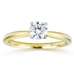 Yellow Gold Solitaire