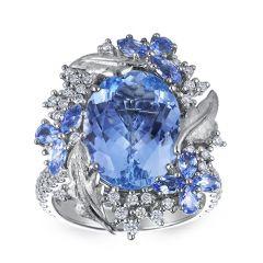 Dreamcatcher Aquamarine Hero Ring