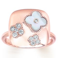 Fiore Mother of Pearl Flower Ring