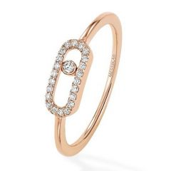 Move Uno Rose Gold Ring