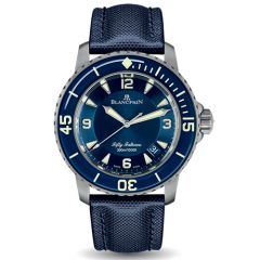 Fifty Fathoms Automatic Blue Dial Men's Watch 45mm