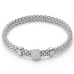 Vendôme Bracelet Pave White