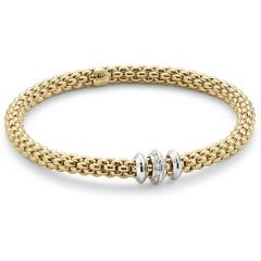Solo Bracelet With Disks Yellow