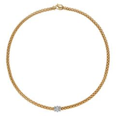 Solo Collection Necklace Yellow Gold