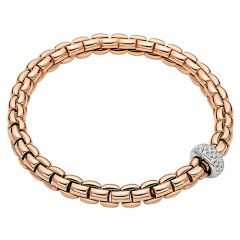 Eka Flex'it Bracelet with Diamonds Rose
