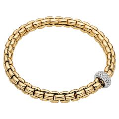 Eka Flex'it Bracelet with Diamonds Yellow