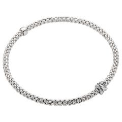 Prima Flex'it Bracelet with Diamonds White