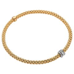Prima Flex'it Bracelet with Diamonds Yellow