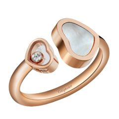 Mother of Pearl Happy Hearts Ring