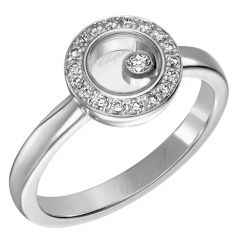Happy Diamonds Pave Surround Ring