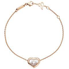 Happy Diamonds Heart Bracelet