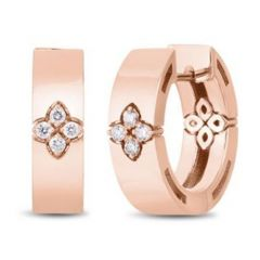 Love in Verona Medium Rose Gold Earrings