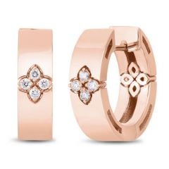 Love in Verona Small Rose Gold Earrings