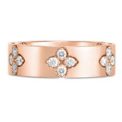 Love in Verona Wide Rose Gold Ring