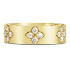 Love in Verona Wide Yellow Gold Ring