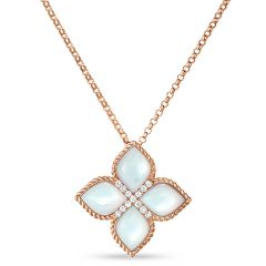 Princess Flower Mother of Pearl Pendant