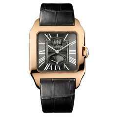Cartier Santos Dumont Power Reserve Calendar 18ct Rose Gold Watch