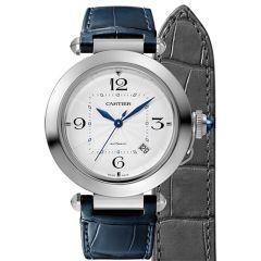 Pasha De Cartier Watch  41mm Stainless Steel