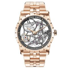 Excalibur Automatic Skeleton, Rose Gold, 42mm