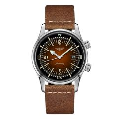 The Longines Legend Diver Watch Brown dial