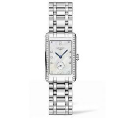 longines dolce vita mother-of-pearl dial