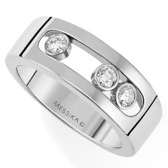 Move Classic White Gold Ring