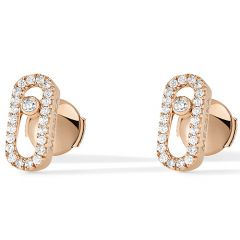Move Uno Rose Gold Earring