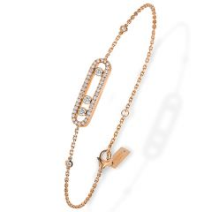 Baby Move Pave Rose Bracelet