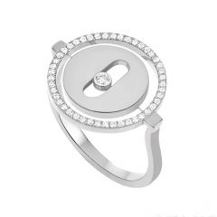 Lucky Move Ring White Gold