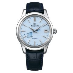 Elegance Spring Drive Blue Snowflake Dial 40mm