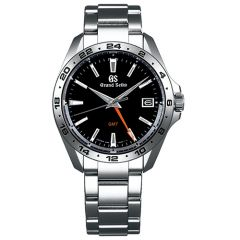 Sport GMT Quartz Black Dial Watch 39mm