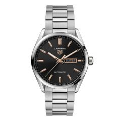 Carrera Day-Date Black and Gold Dial Automatic 41mm